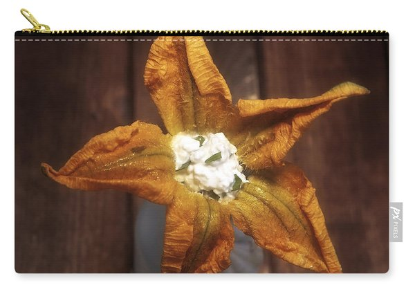 Squash Blossom Carry-all Pouch