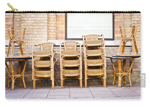 Stacked Chairs Carry-all Pouch