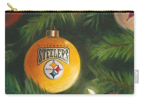 Steelers Ornament Carry-all Pouch