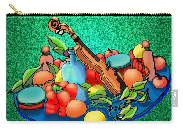 Still Life Flying Carry-all Pouch