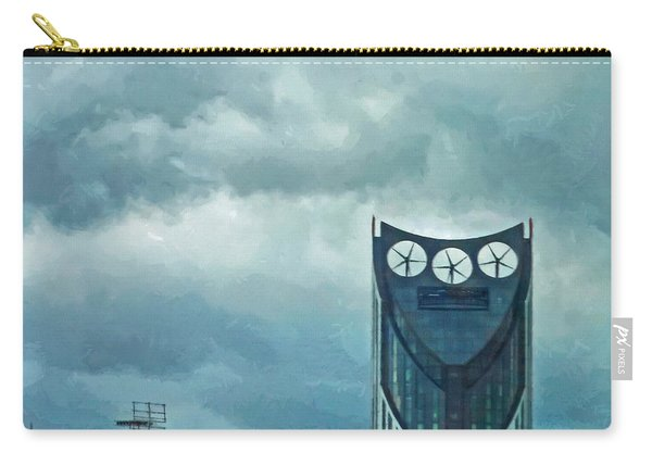 Strata Tower In London Carry-all Pouch