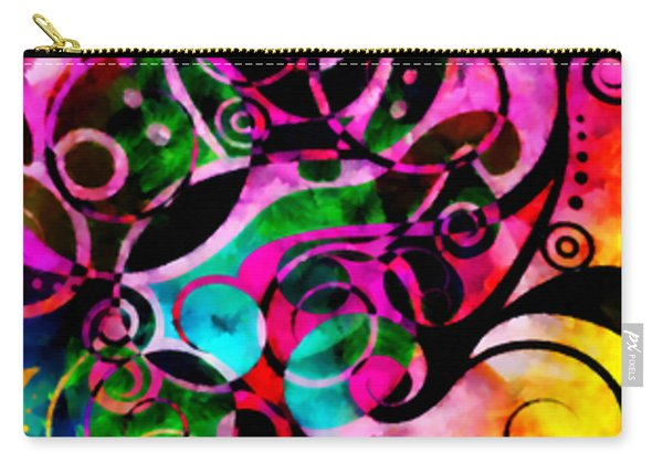 Summer Introspection Of An Extrovert Triptych Vertical Carry-all Pouch