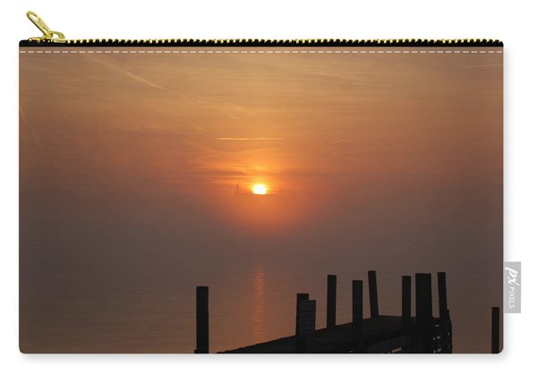 Sunrise On The River Carry-all Pouch