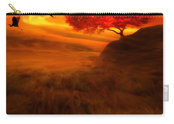 Sunset Duet Carry-all Pouch
