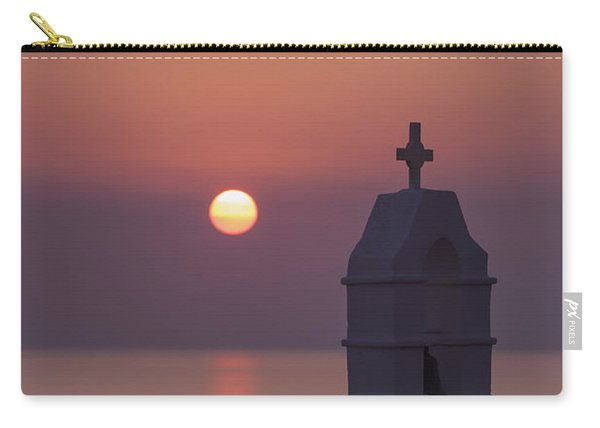sunset in Greece Carry-all Pouch
