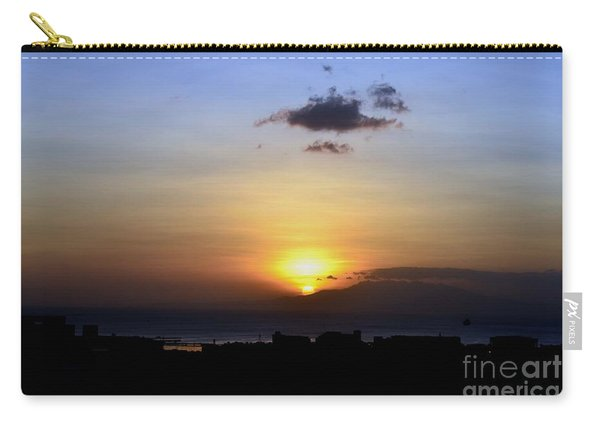 Sunset Upon The Ocean Number Two Carry-all Pouch