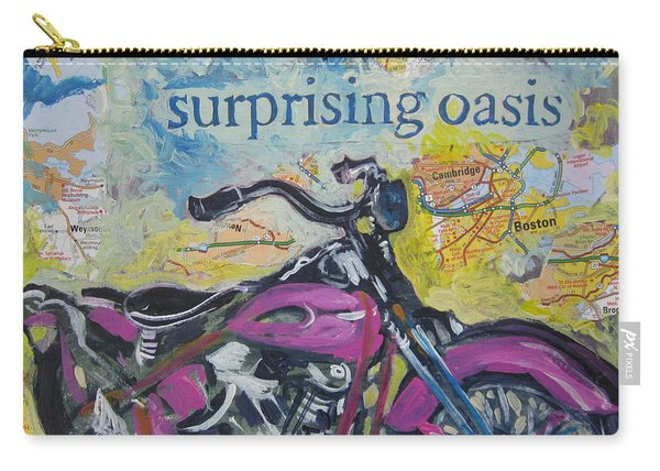 Surprising Oasis Carry-all Pouch