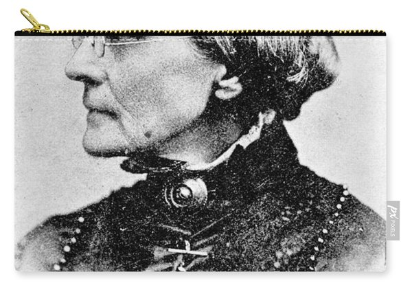 Susan B. Anthony, American Civil Rights Carry-all Pouch