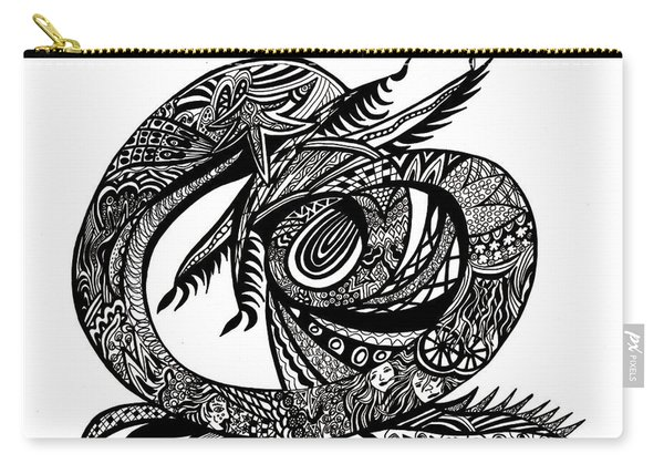 Symbol Of The Dragon Carry-all Pouch