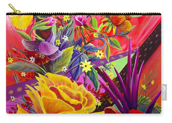 Carry-all Pouch featuring the painting Symphony by Nancy Cupp