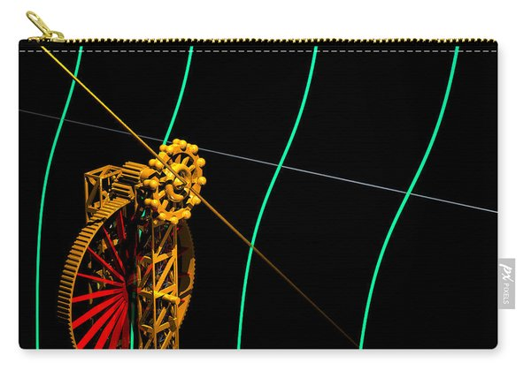 Tangent Graph Math Engine Carry-all Pouch