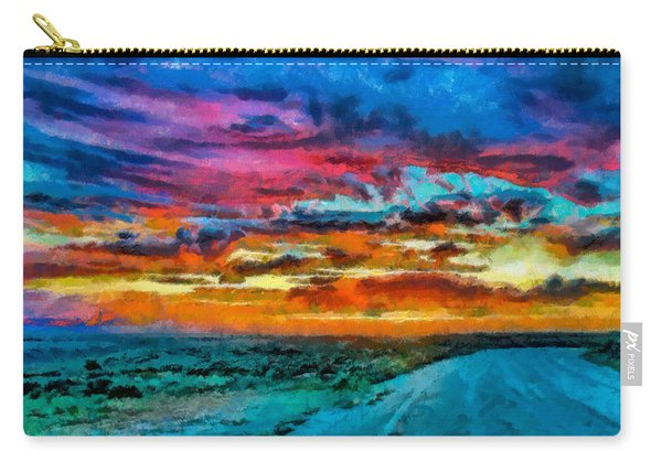 Taos Sunset Iv Wc Carry-all Pouch