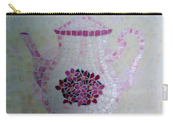 Carry-all Pouch featuring the painting Tea Pot by Cynthia Amaral