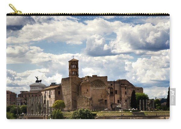 Temple Of Venus And Roma Carry-all Pouch