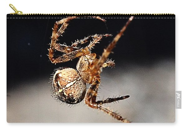 Tending The Web Invisible Carry-all Pouch