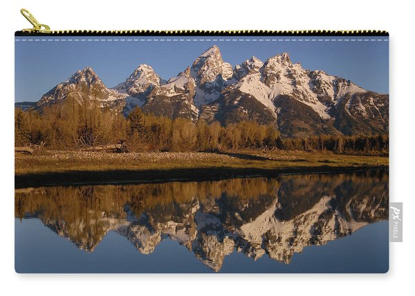 Teton Range, Grand Teton National Park Carry-all Pouch