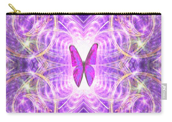 The Angel Of Wishes Carry-all Pouch
