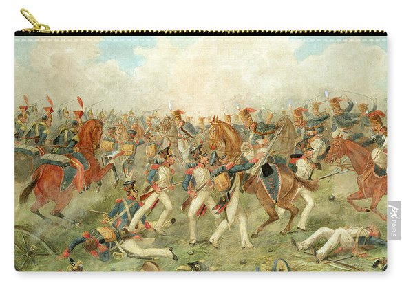 The Battle Of Vitoria June 21st 1813 Carry-all Pouch