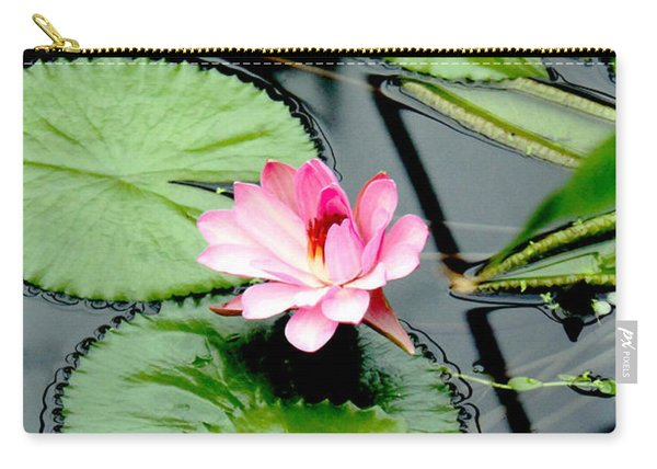 The Beauty Of Water Lily Carry-all Pouch