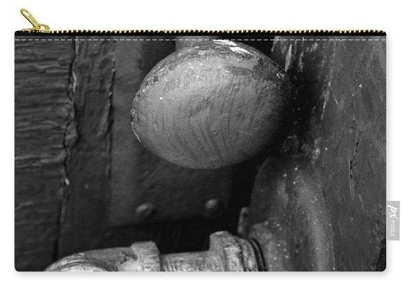 Carry-all Pouch featuring the photograph The Cellar by Ron Cline