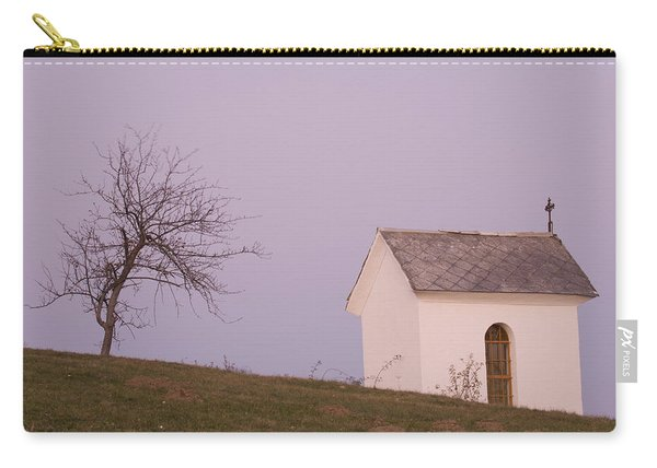 The Chapel On The Hill Carry-all Pouch