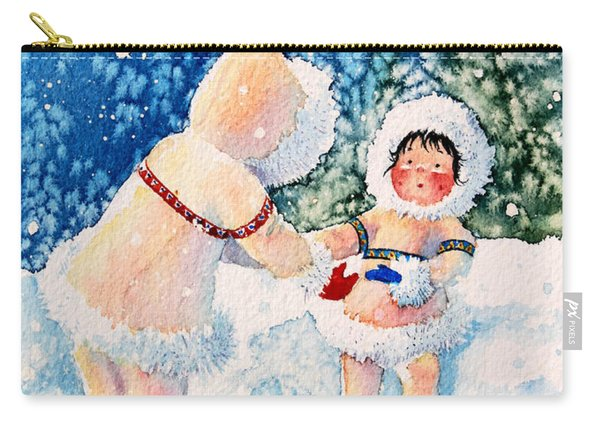 The Figure Skater 2 Carry-all Pouch
