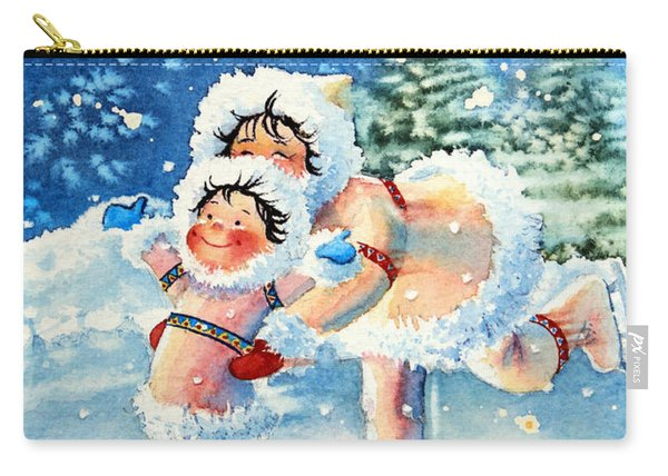 The Figure Skater 4 Carry-all Pouch