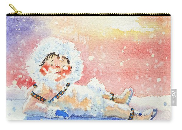 The Figure Skater 6 Carry-all Pouch