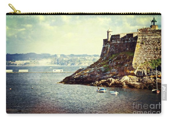The Fort On The Harbor - La Coruna Carry-all Pouch