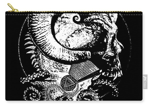 The Great Horned Secret  Carry-all Pouch