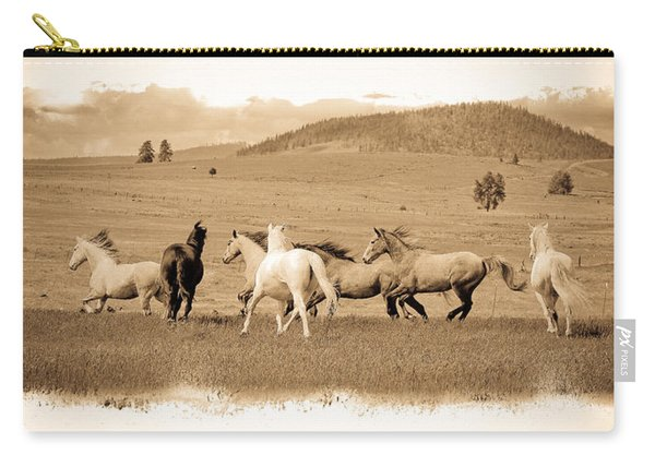 The Horse Herd Carry-all Pouch