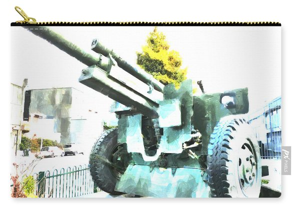 The Howitzer 105mm Field Gun Carriage Carry-all Pouch