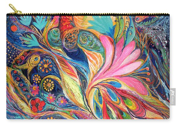 The King Bird. The Original Can Be Purchased Directly From Www.elenakotliarker.com Carry-all Pouch