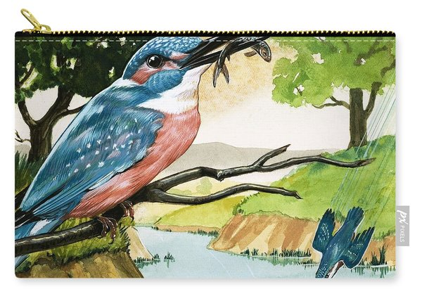 The Kingfisher Carry-all Pouch