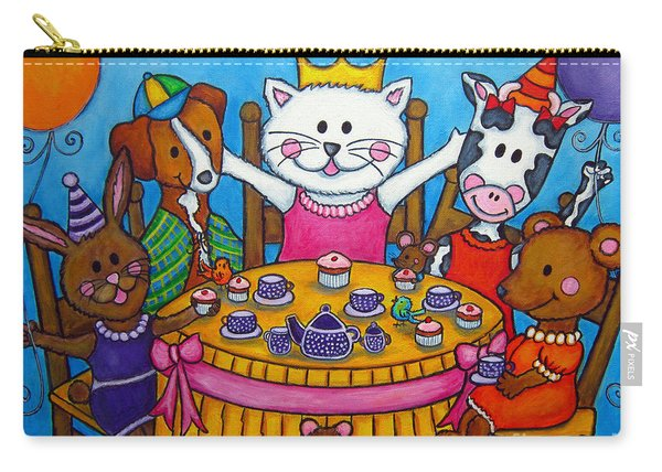 The Little Tea Party Carry-all Pouch