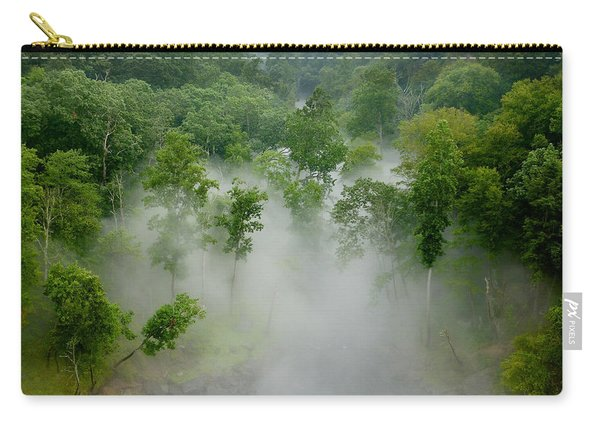 The Mist In The Valley Carry-all Pouch