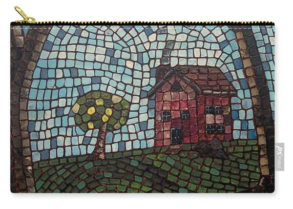 Carry-all Pouch featuring the painting The Pond by Cynthia Amaral
