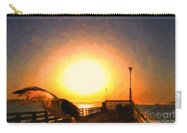 The Scream Of The Gull . S350d3188 Carry-all Pouch