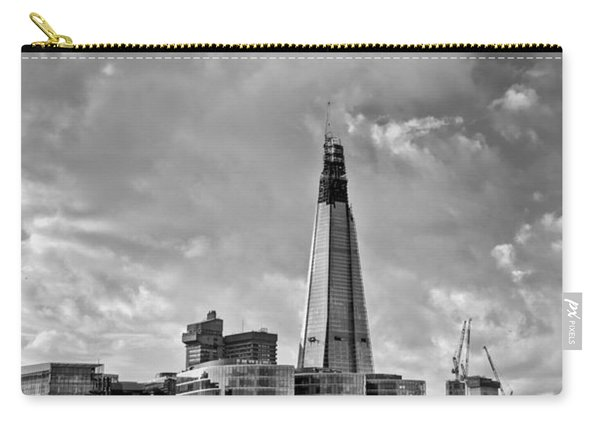 The Shard London Black And White Carry-all Pouch