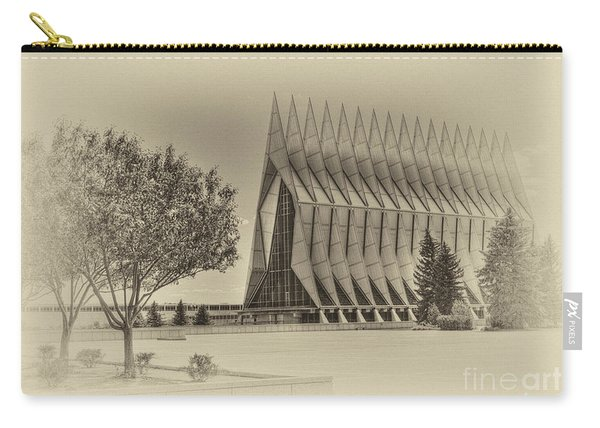 The United States Air Force Academy Chapel Carry-all Pouch