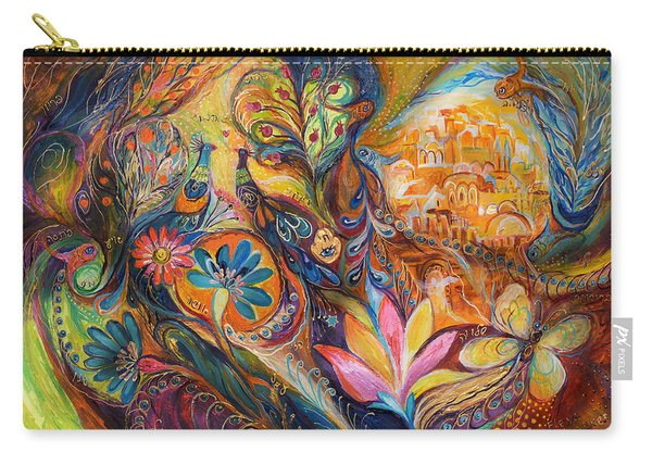 The Walls Of Jerusalem. The Original Can Be Purchased Directly From Www.elenakotliarker.com Carry-all Pouch