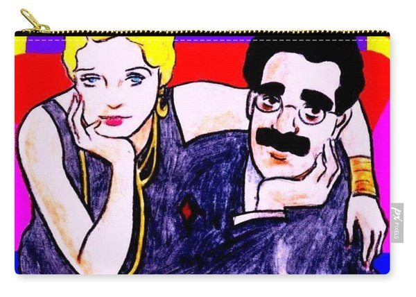 Thelma And Groucho Carry-all Pouch