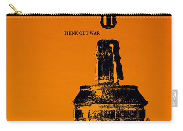 Think Out War Carry-all Pouch