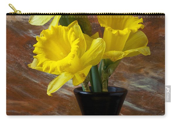 Three Daffodils Carry-all Pouch