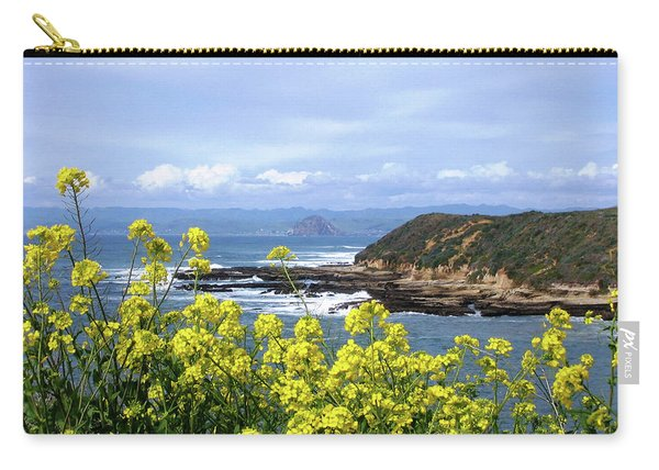 Through Yellow Flowers Carry-all Pouch