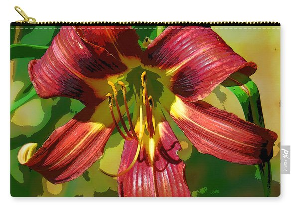 Tiger Lily Carry-all Pouch
