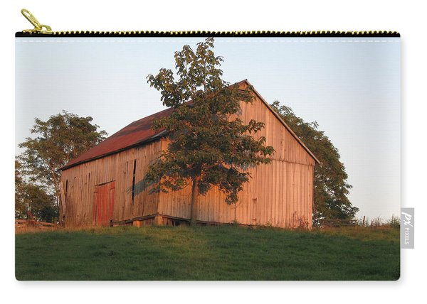Tobacco Barn II In Color Carry-all Pouch