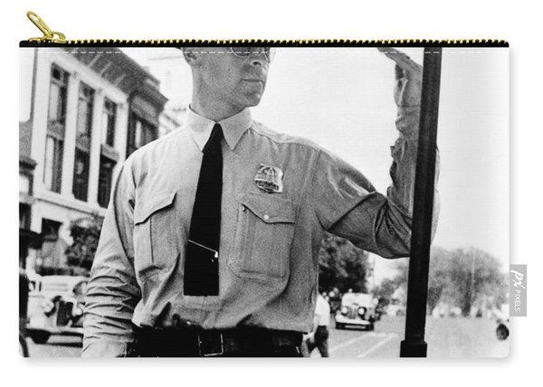 Traffic Cop, 1936 Carry-all Pouch