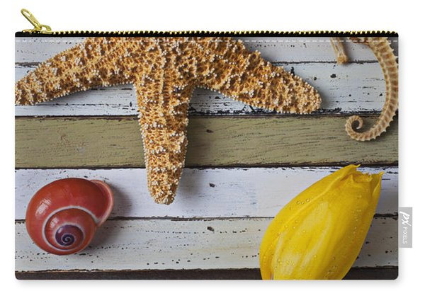 Tulip And Starfish Carry-all Pouch