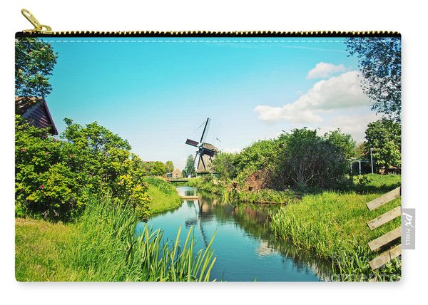 Typical Dutch  Windmill Carry-all Pouch